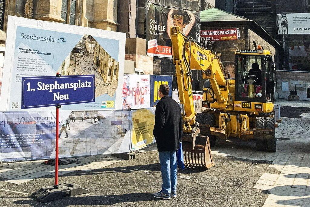 Baustart Generalsanierung Stephansplatz
