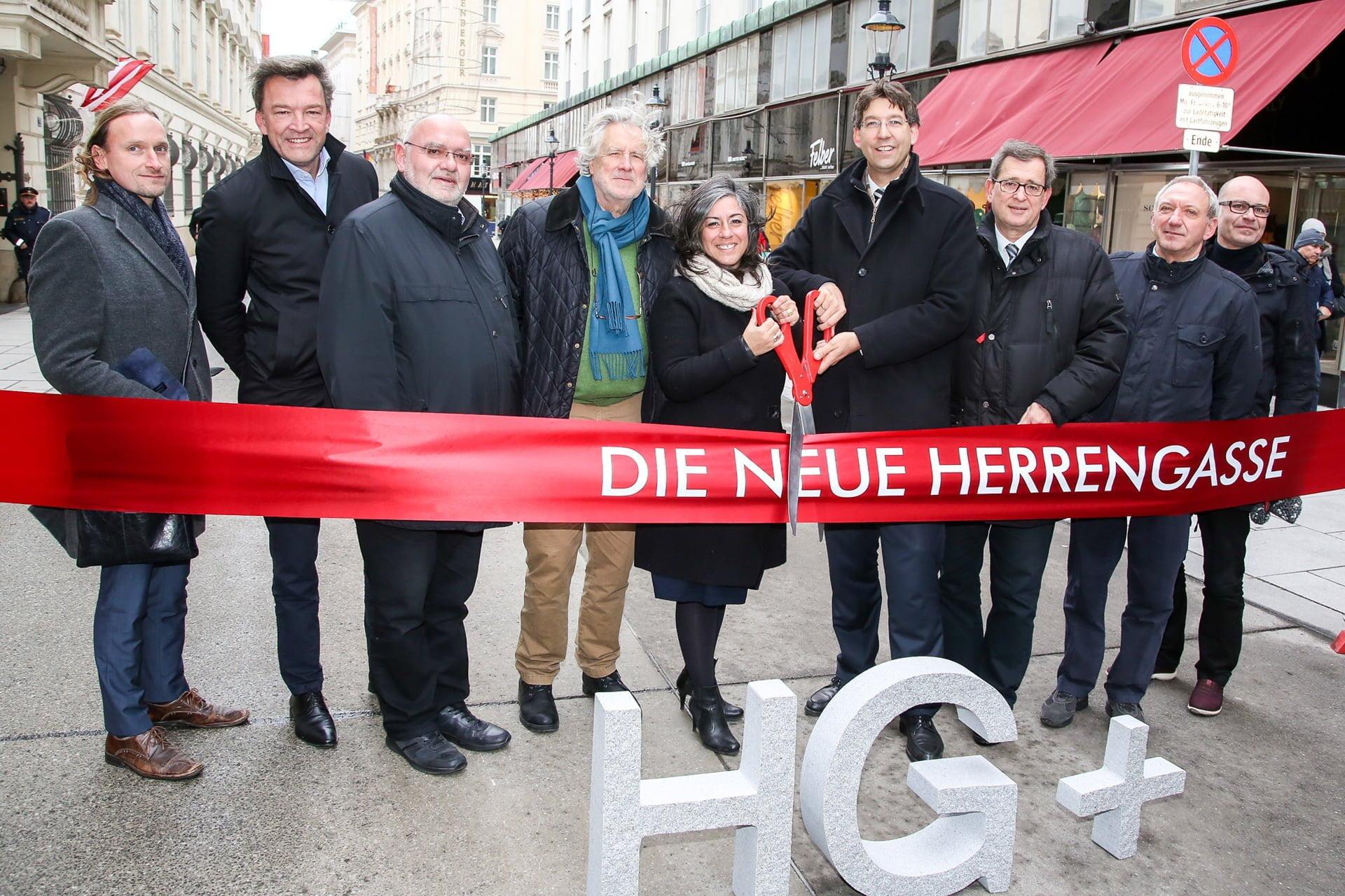 Eröffnung Begegnungszone Herrengasse